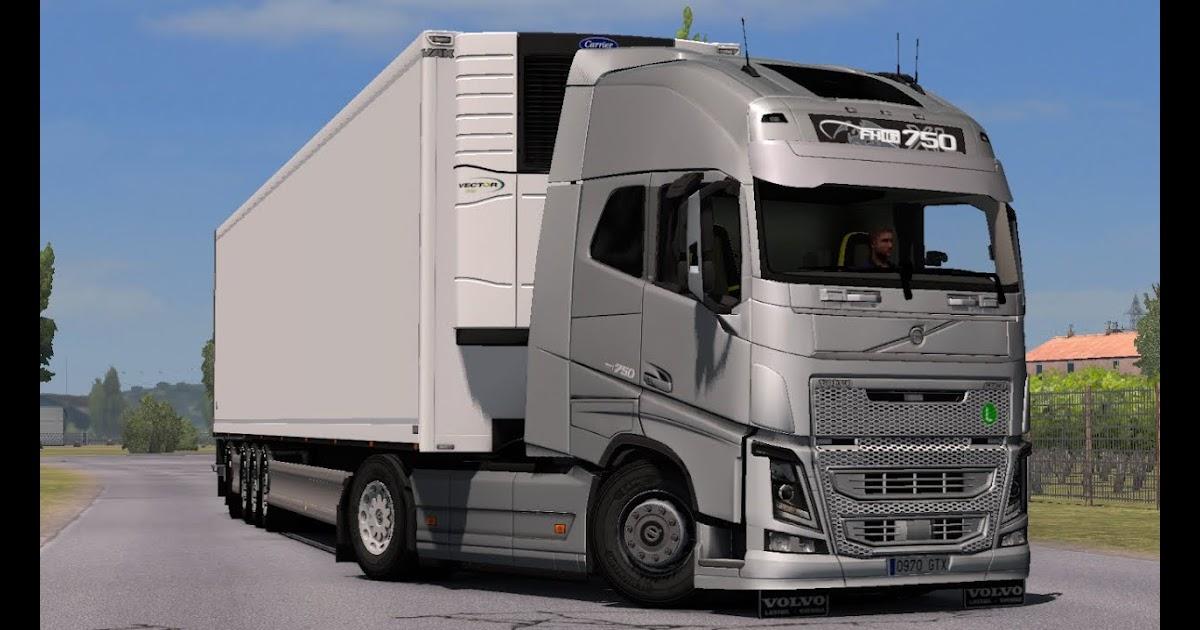 1 33 Euro Truck Simulator 2 Addon For Volvo Fh16 By Sogard3 And Skejcikk V1 1 Mods Fantastic Beasts