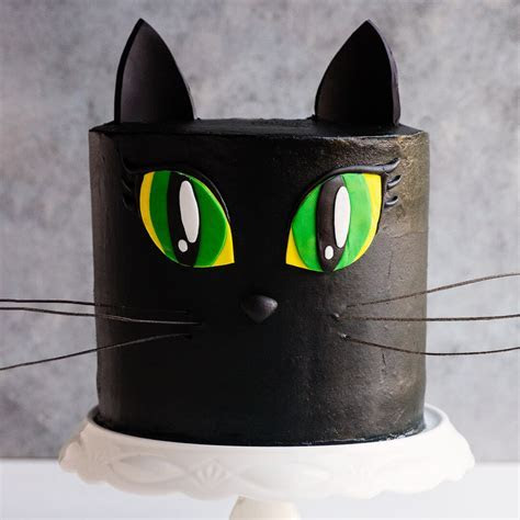 Black Cat Cake Video Tutorial   with Pumpkin and Chocolate