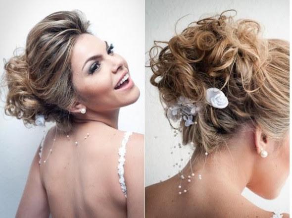 557273 Os cabelos presos estão entre as tendências de penteados para noivas 2013. Foto divulgação Tendências de penteados para noivas 2013