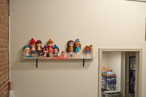dolly shelf...