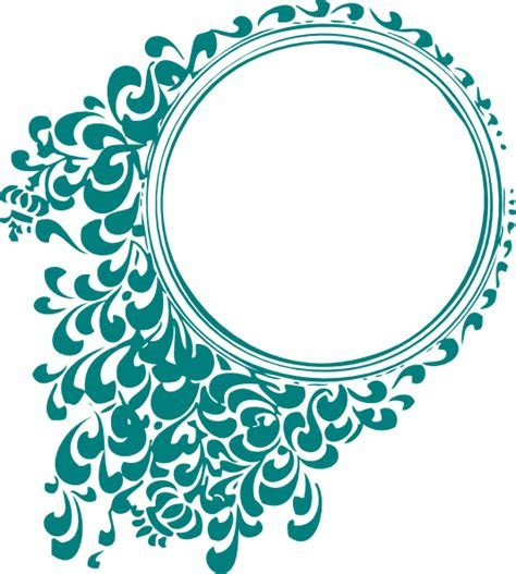 Wedding Scroll Clip Art at Clker.com   vector clip art