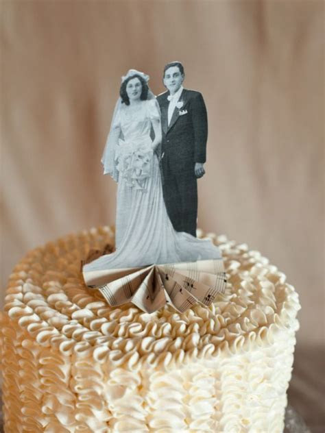 DIY Heirloom Cake Topper   Wedding topper, Vintage