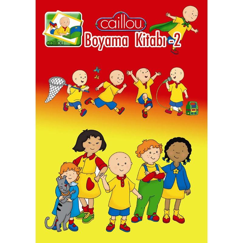 Caillou Boyama Kitabı 2