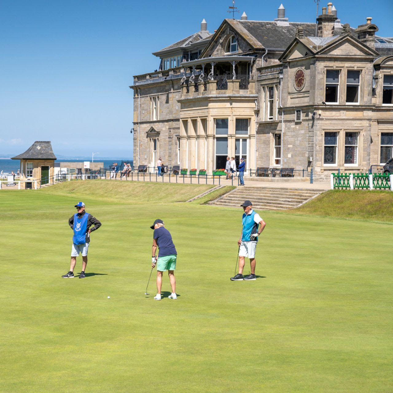 St Andrews is a Golf 'Mecca.' Well-Heeled Homebuyers Happen to Flock There, Too