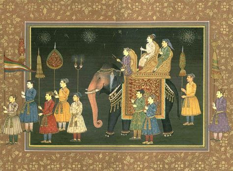 The Wedding Procession of a Mughal Prince   Ketubah