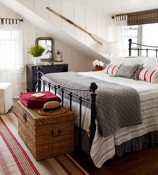 cozy winter room layers of quilts