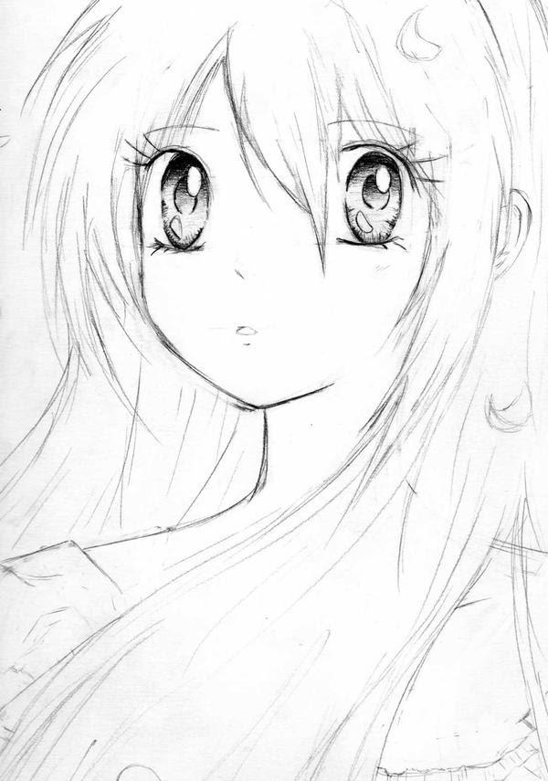 Imagenes De Dibujos Para Dibujar Anime Sketch Coloring Page
