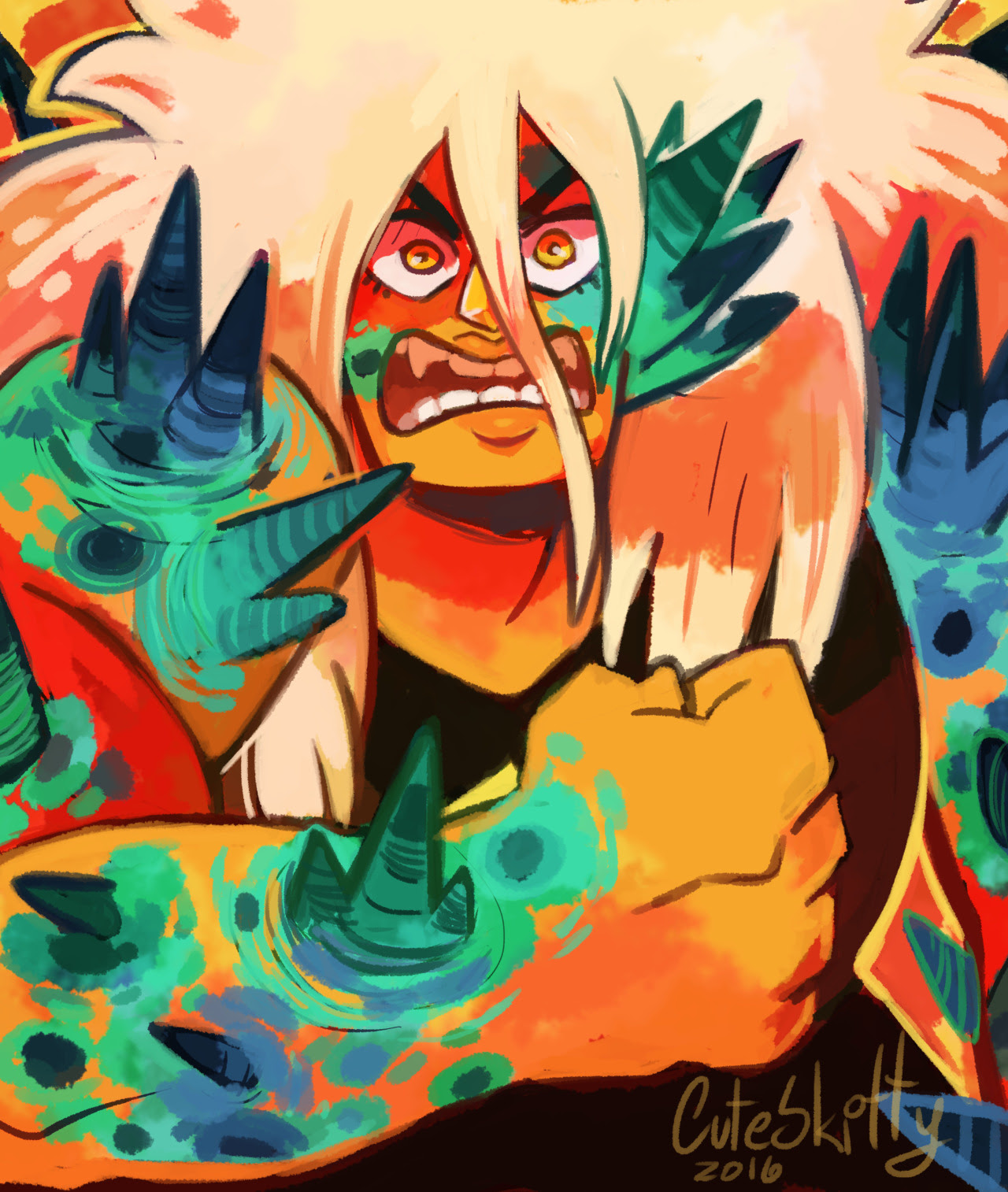 "(x) Corruption After watching ""earthlings"" I felt like I had to make a Jasper doodle, even if I was never a Jasper fan, it was still shocking to see her corrupted and so desperate/angry, it made me..."