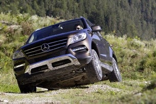 mercedes ml offroad package