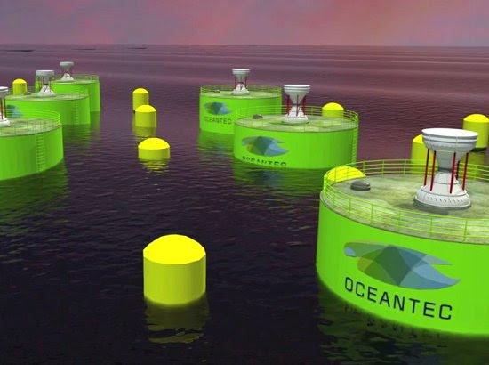Turbina inovadora tentará gerar energia barata com ondas do mar