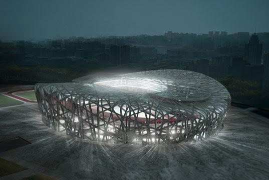Beijing Olympic Stadium, Beijing Olympics 2008, Birds Nest building, Herzog DeMeuron