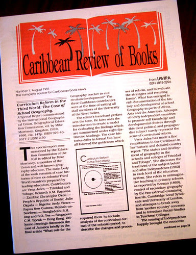 caribbean review of books august 1991