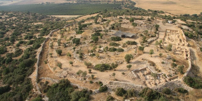 The Khirbet Qeiyafa Archaeological Site. (Bible Lands Museum Jerusalem Spokesperson)