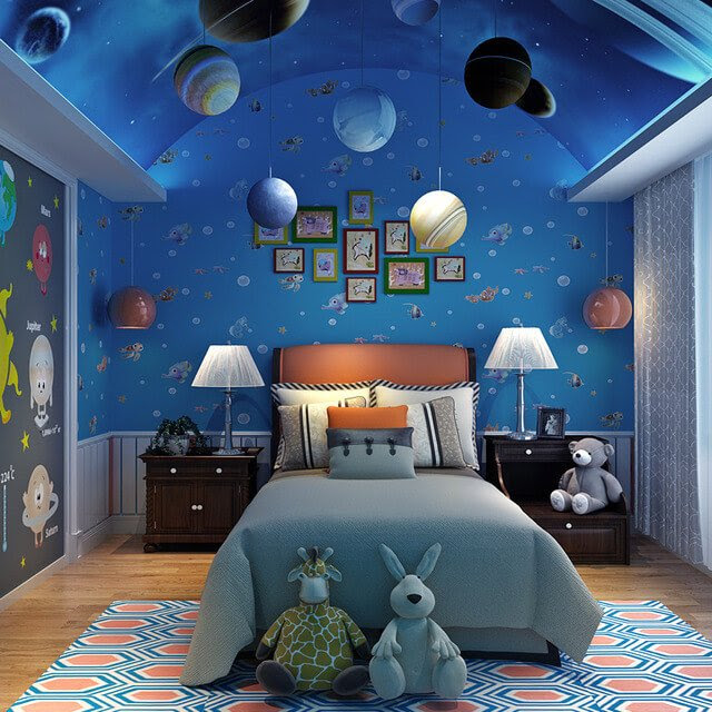 universe space bedroom decor aliexpress