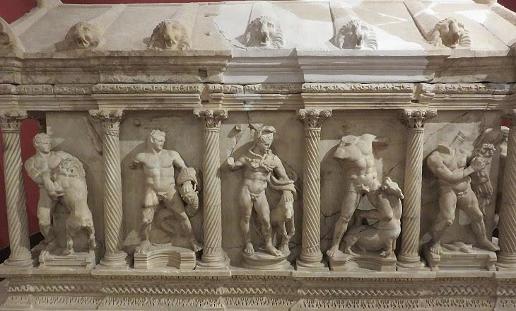 Αποτέλεσμα εικόνας για ancient perge sarcophagus