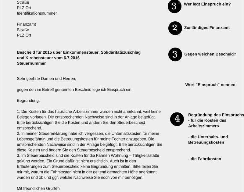 23+ Fakten über Finanzamt Einspruch Vorlage: Alle ...