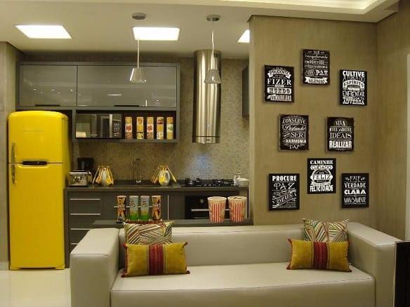 Resultado de imagem para decoração de quadros para cozinha