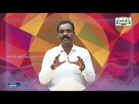 12th Geography மாதிரி வினா தாள் - 1 Q And A Kalvi TV