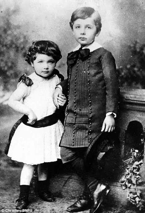 Photos of Albert Einstein as a child emerge for sale for £