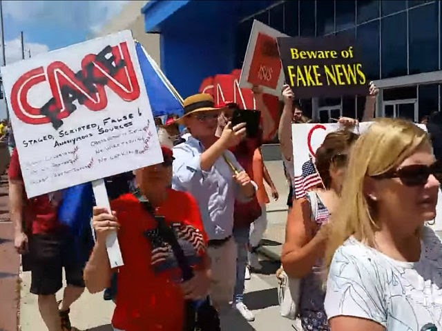 CNN protest