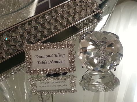 Table Numbers / Place card holders   Slique Designs