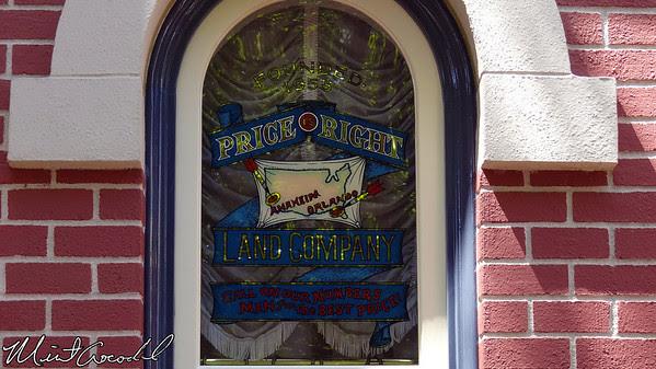 Disneyland, Main Street USA, Buzz Price, Window