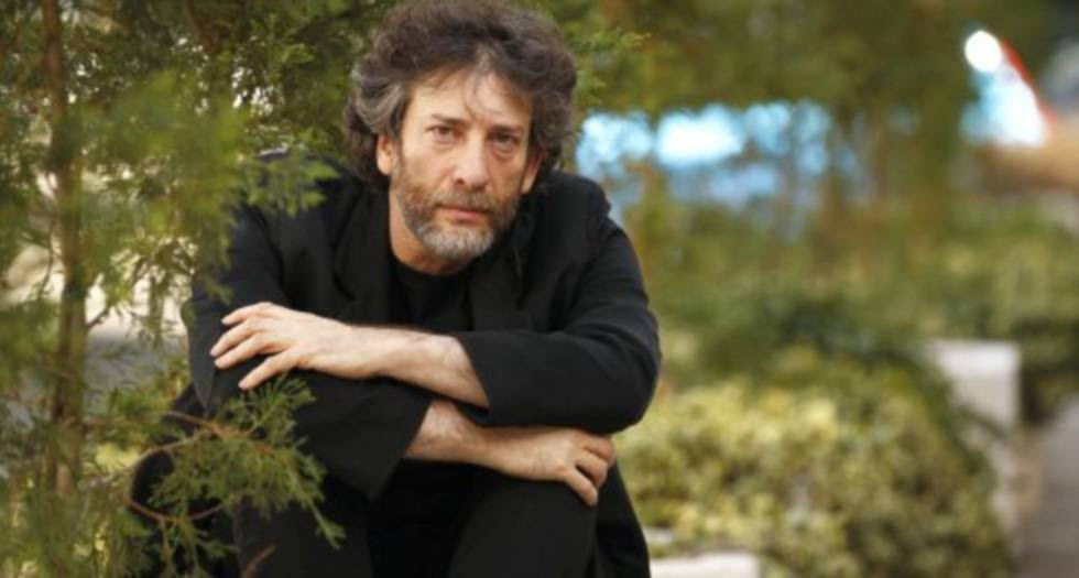 Neil Gaiman, retratado en Madrid en 2015.