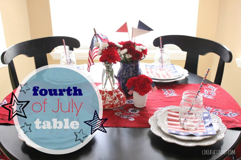Fourth of July Table