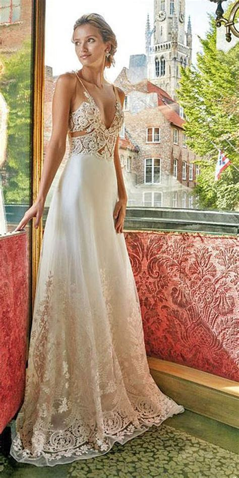 Best 25  Jeweled wedding dresses ideas on Pinterest