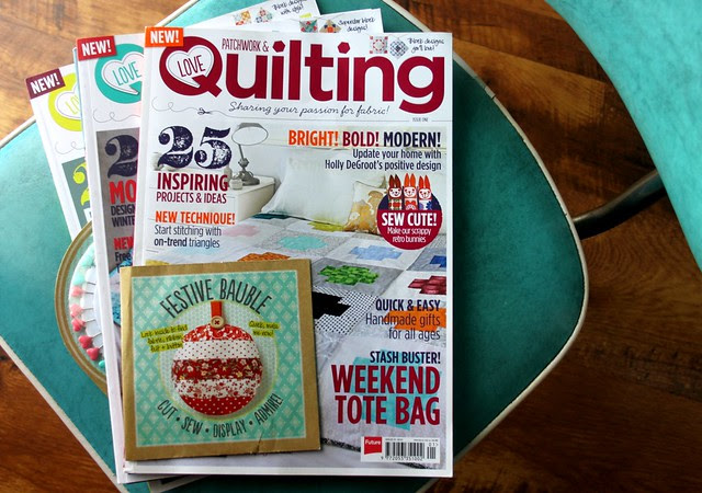 Love Patchwork & Quilting Giveaway!!