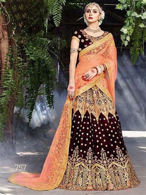 Bollywood designer indian pakistani wedding bridal velvet