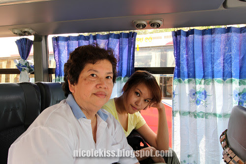 mother and i on bus