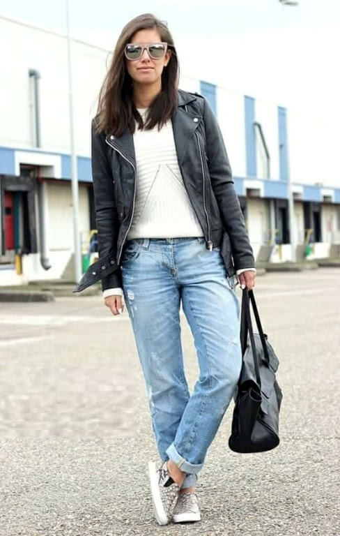 how to rock the boyfriend jeans   just trendy girls