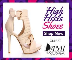 Shop AMIclubwear.com for great deals on fashionable high heel shoes!