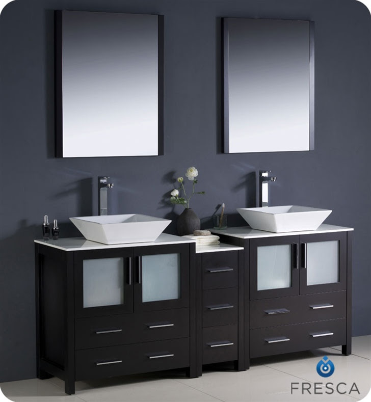 100+ EPIC Best Bathroom Vanities With Vessel Bowls