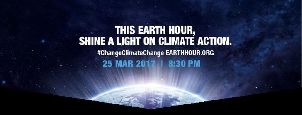 Image result for Earth hour 2017