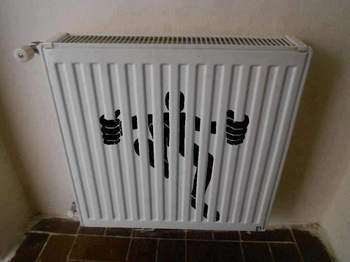 Кто живёт за радиатором?