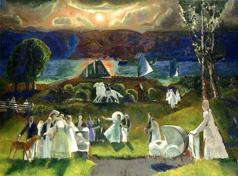 Archivo:Bellows George Summer Fantasy 1924.jpg