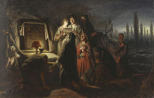 Vasily Perov's painting illustrates clandestin...