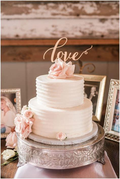 wedding cake barn reception blush richmond wedding at