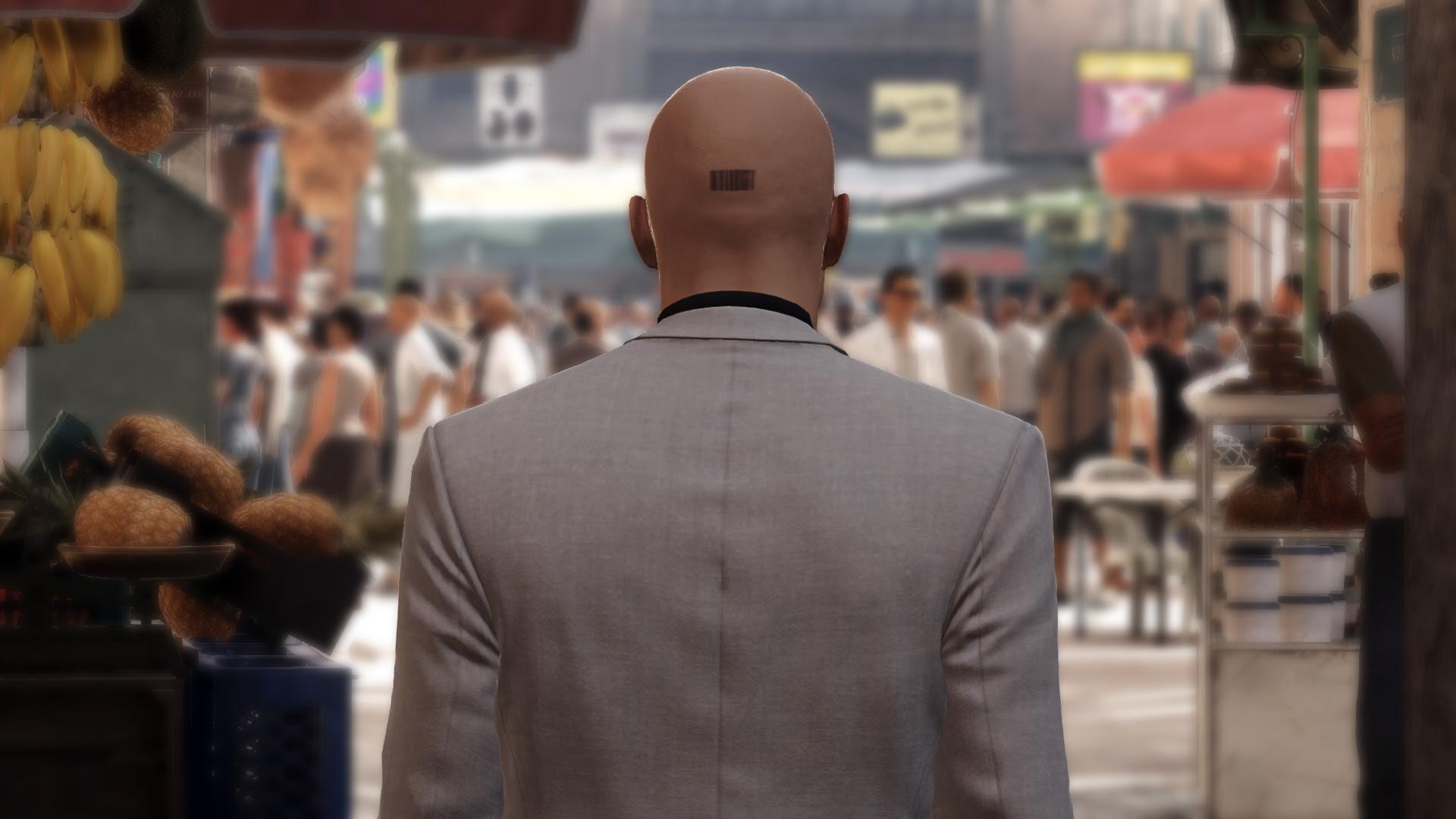 Hitman's final elusive target is named Mr. Giggles screenshot