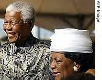 Mama Adelaide Tambo photographed with former South African President Nelson Mandela. Her funeral was held on February 10, 2007. Mandela celebrated his 89th birthday on July 18. by Pan-African News Wire File Photos