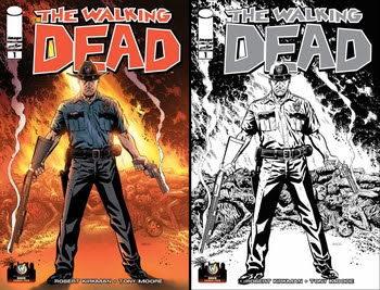 Mike Zeck Variant Cover of Robert Kirkman's The Walking Dead #1 Debuts at Wizard World Ohio Comic Con