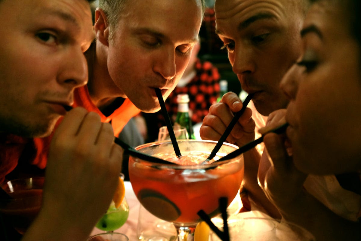 While these effects can be a pleasant and temporary side-effect of moderate drinking, which is defined by the NIAAA as up to 2 drinks a day for men and 1 for women, they can be devastating if you binge drink, or have 5 or more drinks (if you're a man) in 2 hours or 4 or more drinks in that time period (if you're a woman).