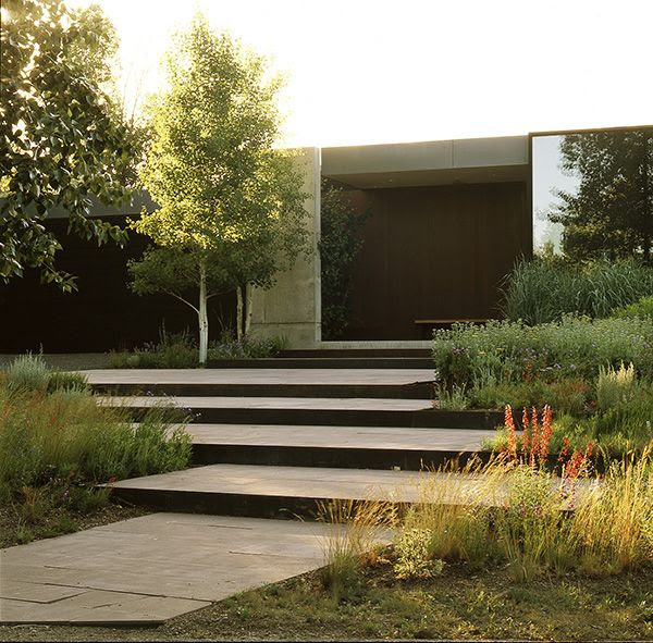 How To Make Your Landscape Blend In With the Surrounding Nature - an Award Winning Residential Design