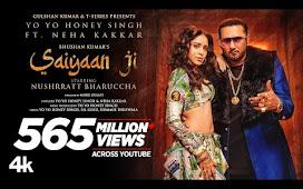 Saiyaan Ji Punjabi Song Lyrics - Yo Yo Honey Singh | Neha Kakkar