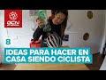 Mayalen Noriega nos cuenta 8 cosas que hacer cuando un ciclista está atrapado en casa