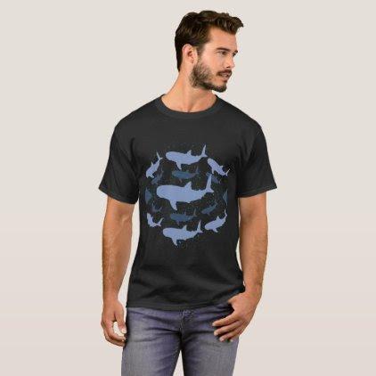 Whale Shark Marine Biology Art T-Shirt