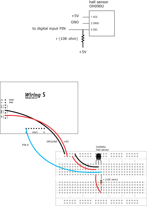Hallsensor Learning Wiring