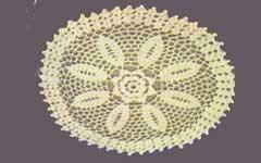 Crochet doily pattern #1